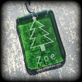 Personalised Christmas Decoration - Christmas Tree