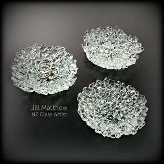 Reclaimed & Upcycled Glass Ring Dish