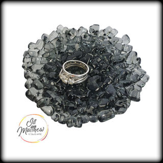 Reclaimed & Upcycled Ring Dish - Black